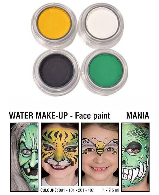 Comprar Paleta Maquillaje Halloween Bruja 4 Maquillajes Al Agua Grimas online en la tienda Alpel