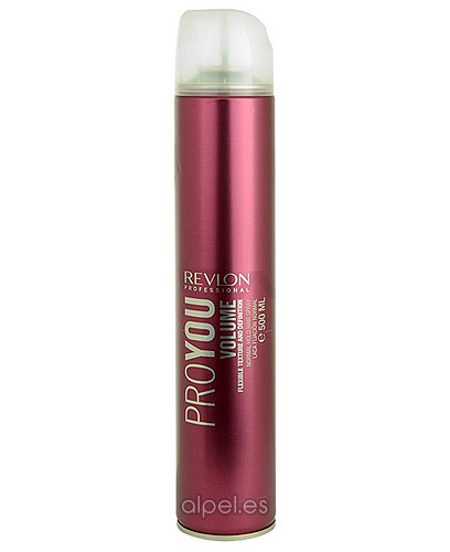 Comprar Revlon Proyou Volume Normal Hold Hair Spray 500 ml online en la tienda Alpel