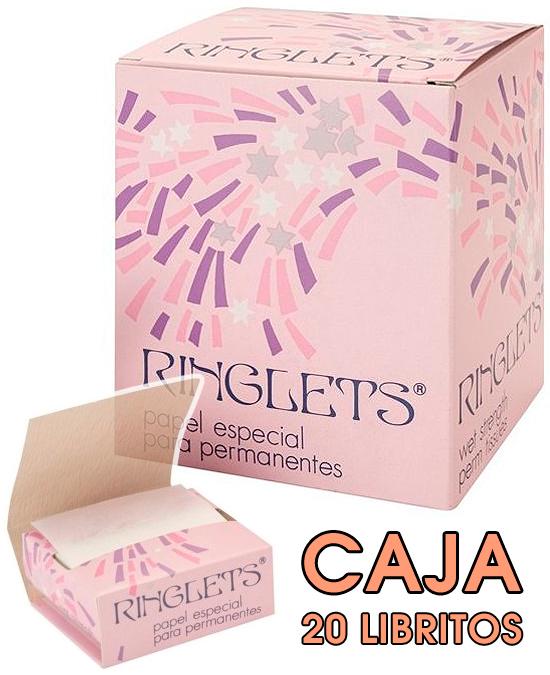 Comprar Ringlets Papel Especial Permanentes Caja 20 Libritos online en la tienda Alpel