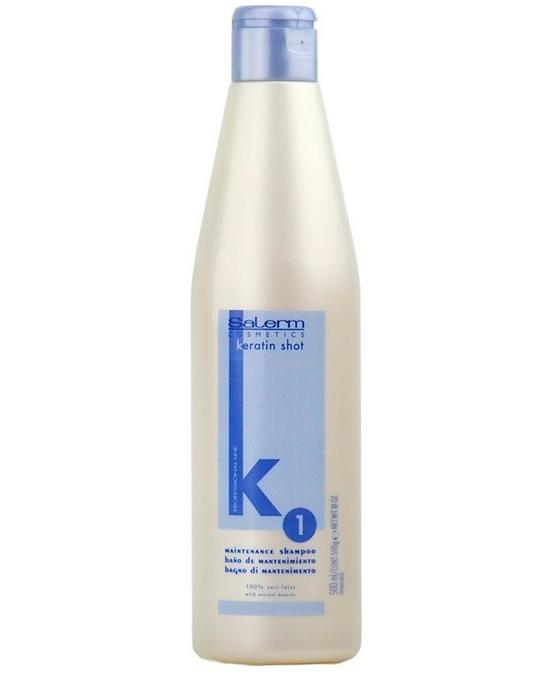 Comprar online Salerm Keratin Shot Champú a precio barato en la tienda Alpel