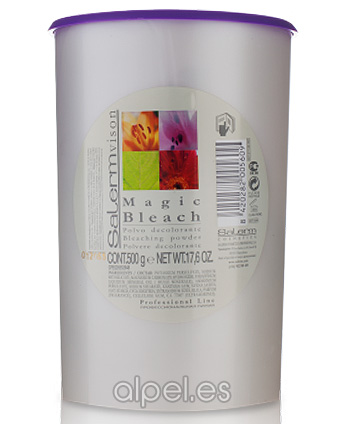 Comprar Salerm Salermvison Decolorante Magic Bleach 500 gr online en la tienda Alpel