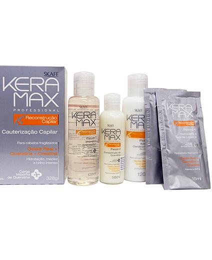 Tratamiento de Keratina Keramax Kit Reconstrucción Capilar - Comprar online en Alpel