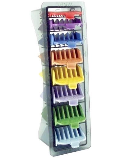 Comprar Wahl Peines Colores Kit 8 peines 03170-417 online en la tienda de Alpel