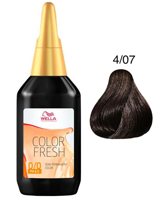 Comprar online Comprar online Color Fresh Wella 4/07 en la tienda alpel.es - Peluquería y Maquillaje