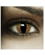 Lentillas de color Amarillo Leopardo - Alpel