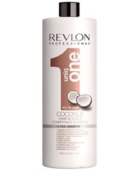 Comprar Uniq One Coconut Conditioning Shampoo 1000 ml online en la tienda Alpel