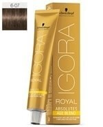 Comprar Schwarzkopf Igora Royal Absolutes Age Blend 6-07 60 ml online en la tienda Alpel