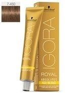 Comprar Schwarzkopf Igora Royal Absolutes Age Blend 7-450 60 ml online en la tienda Alpel