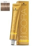 Comprar Schwarzkopf Igora Royal Absolutes Age Blend 8-01 60 ml online en la tienda Alpel