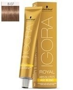 Comprar Schwarzkopf Igora Royal Absolutes Age Blend 8-07 60 ml online en la tienda Alpel